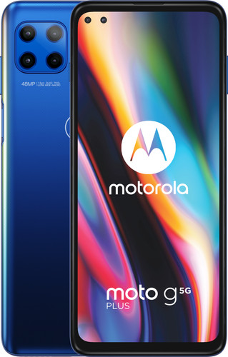Motorola Moto G 5G Plus 64GB Blue Main Image