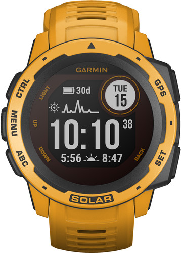 Garmin Instinct Solar Yellow Main Image
