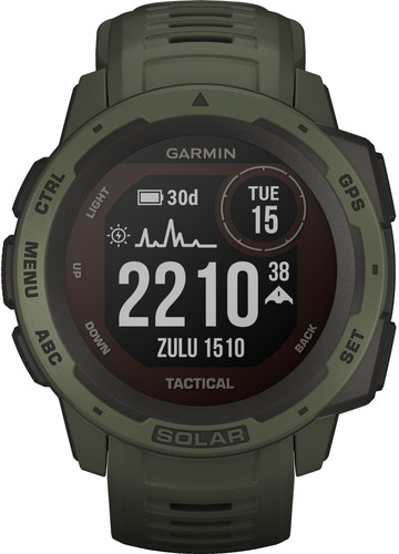 Garmin Instinct Solar Tactical Green Main Image