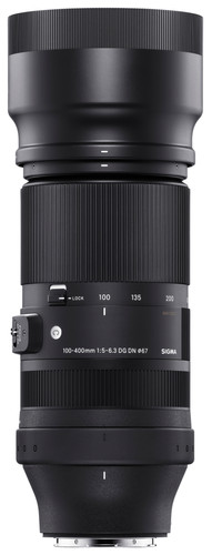 Sigma 100-400mm F5-6.3 DG DN OS | Contemporary Sony E-mount Main Image