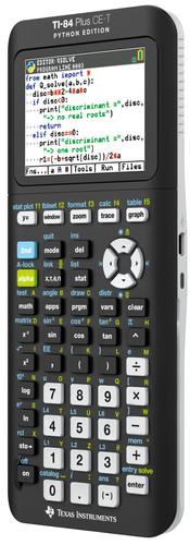 Texas Instruments TI-84 CE-T + Python app Main Image