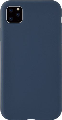Azuri Apple iPhone 11 Back Cover Siliconen Blauw Main Image