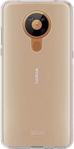 Azuri TPU Nokia 5.3 Back Cover Transparant Main Image