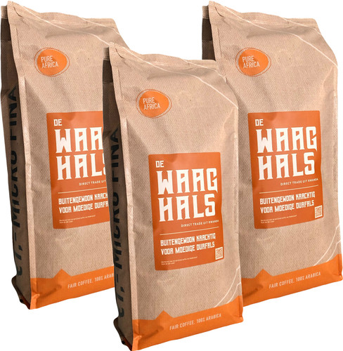 Pure Africa De Waaghals Coffee Beans 3kg Main Image