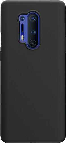 Azuri OnePlus 8 Pro Back Cover Siliconen Zwart Main Image