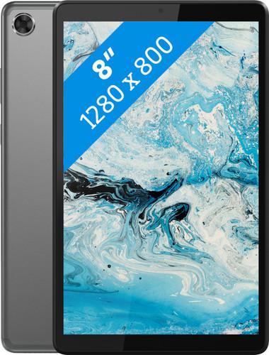 Lenovo Smart Tab M8 32GB Wifi Grijs + Oplaadstation Main Image