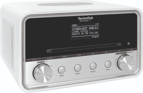 TechniSat DigitRadio 585 White Main Image