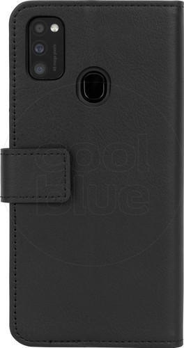 Just in Case Wallet Samsung Galaxy M21 Book Case Black Main Image