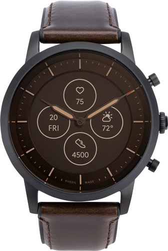 Fossil Collider Hybrid HR Smartwatch FTW7008 Brown Main Image