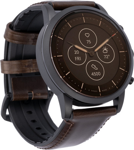 Fossil Collider Hybrid Hr Smartwatch Ftw7008 Brown Coolblue Before 23 59 Delivered Tomorrow