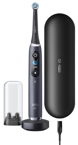 Oral-B iO - 9n - Electric Toothbrush Black Powered By Braun Main Image