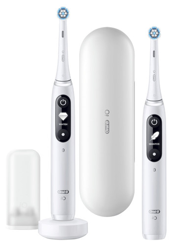 Oral-B iO - 7n - Elektrische Tandenborstel Wit, Duopack Main Image
