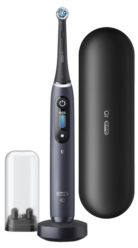 Oral-B iO - 8n - Electric Toothbrush Black Powered By Braun Main Image