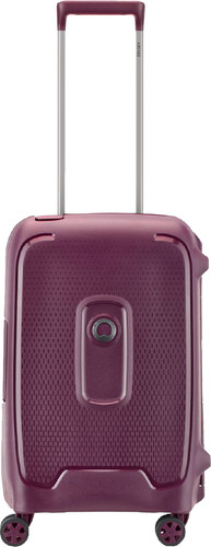 Delsey Moncey Cabin Size Spinner 55cm Purple Main Image
