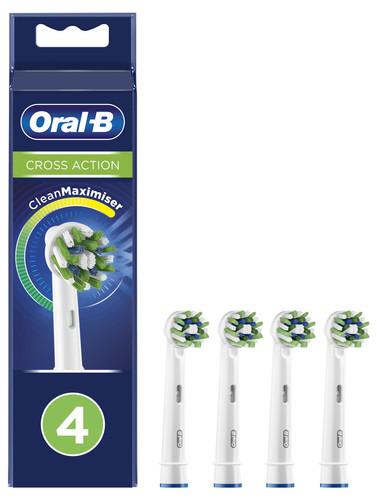Oral-B CrossAction Opzetborstel 4 Stuks Main Image