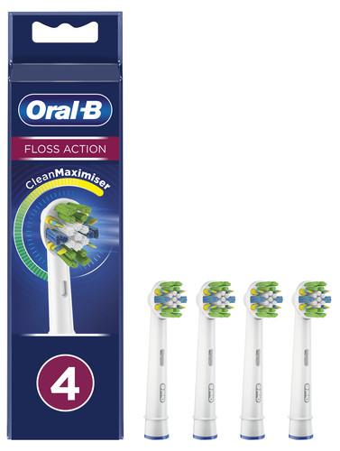 Oral-B FlossAction Opzetborstel 4 Stuks Main Image
