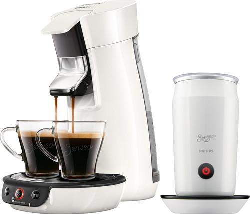 Philips Senseo Viva Café HD6563/00 White + Milk Frother Main Image