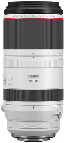 Canon RF 100-500mm f/4.5-7.1L IS USM Main Image