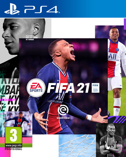 FIFA 21 PS4 Main Image