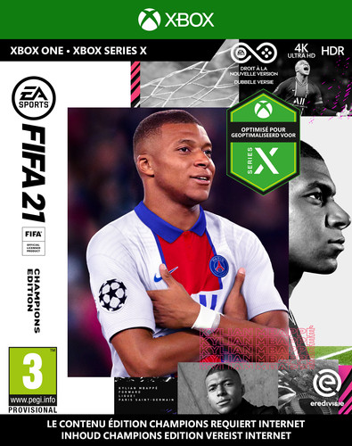 FIFA 21 Champions Edition Xbox One Main Image