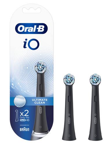 Oral-B iO Ultimate Clean Zwart (2 stuks) Main Image