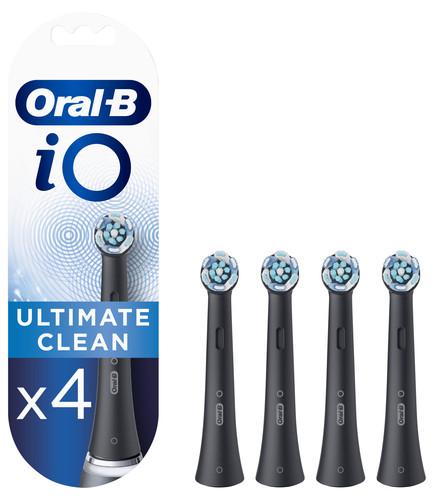 Oral-B iO Ultimate Clean Zwart (4 stuks) Main Image
