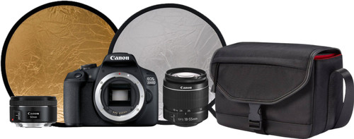 Canon EOS 2000D - Starterskit + Portretlens Main Image
