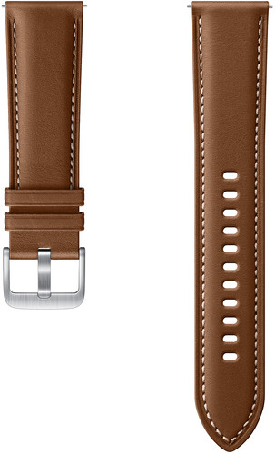 Samsung Galaxy Watch3 45mm Leather Strap Brown 22mm Main Image