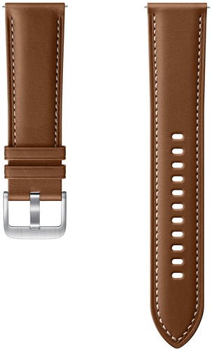 Samsung Galaxy Watch3 41mm Leather Strap Brown 20mm Main Image