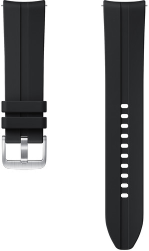 Samsung Galaxy Watch3 41mm Silicone Strap Black 20mm Main Image