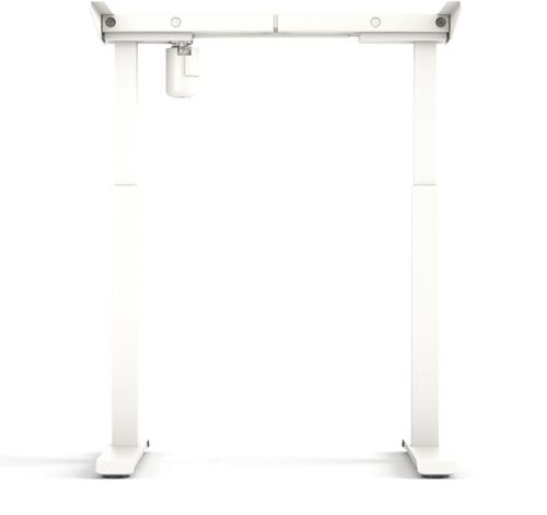 Worktrainer StudyDesk Sit-Stand Frame White Main Image