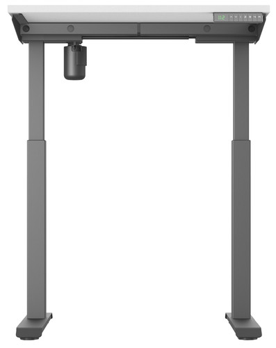 Worktrainer StudyDesk Sit-Stand Desk 80x80cm Black/White Main Image