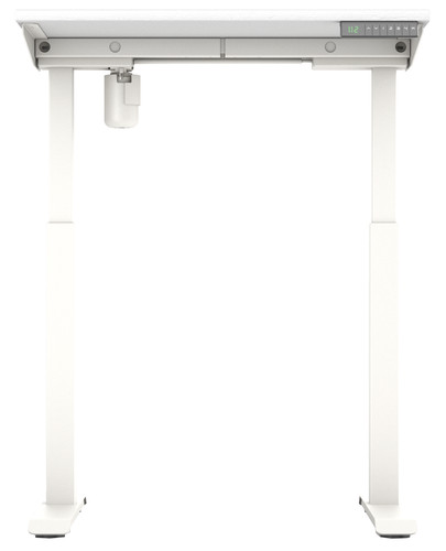 Worktrainer StudyDesk Sit-Stand Desk 80x80cm White/White Main Image