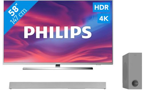 Philips The One (58PUS7304) - Ambilight + Soundbar Main Image