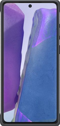Samsung Galaxy Note 20 Protective Standing Back Cover Zilver Main Image