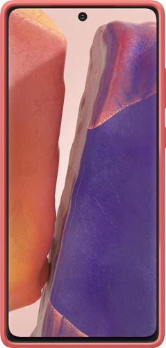 Samsung Galaxy Note 20 Back Cover Kvadrat Rood Main Image