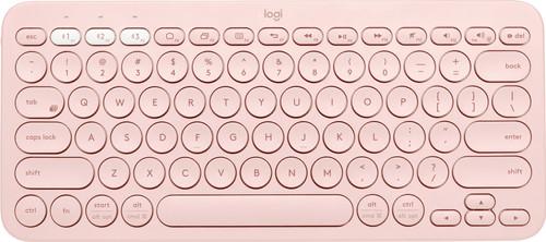 Logitech K380 Wireless Keyboard QWERTY Pink Main Image