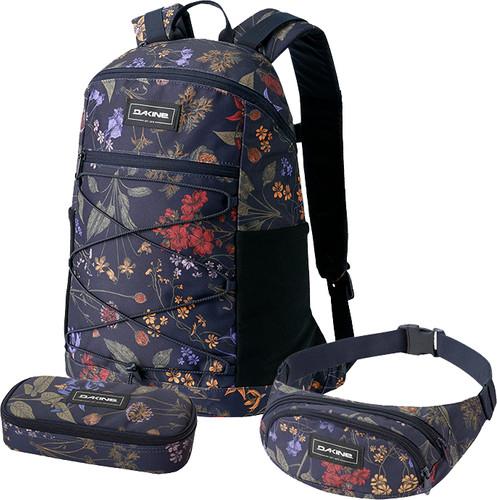 Dakine WNDR Pack Botanics PET 18L+ School Case + Hip Pack Main Image