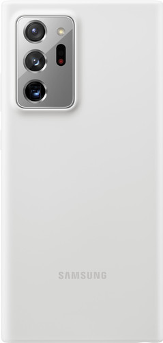 Samsung Galaxy Note 20 Ultra Back Cover Siliconen Wit Main Image