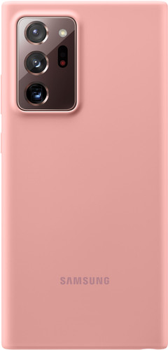Samsung Galaxy Note 20 Ultra Back Cover Siliconen Brons Main Image