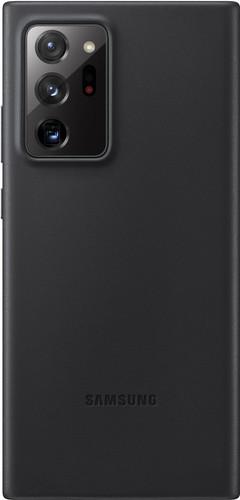 Samsung Galaxy Note 20 Ultra Back Cover Leer Zwart Main Image