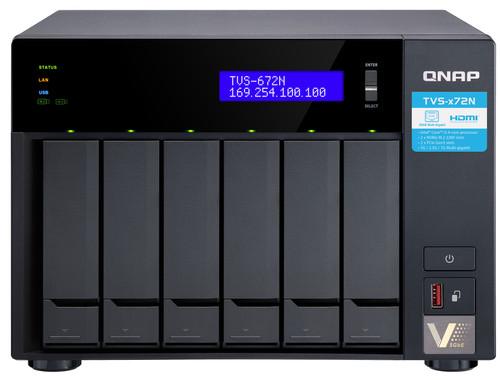Qnap TVS-672N-i3-4G Main Image