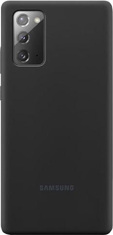 Samsung Galaxy Note 20 Back Cover Siliconen Zwart Main Image