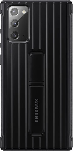 Samsung Galaxy Note 20 Protective Standing Back Cover Zwart Main Image