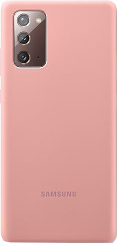 Samsung Galaxy Note 20 Back Cover Siliconen Brons Main Image