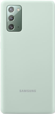 Samsung Galaxy Note 20 Back Cover Siliconen Groen Main Image
