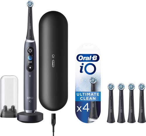 Oral-B iO - 9n Zwart Powered By Braun + 4 borstels Main Image