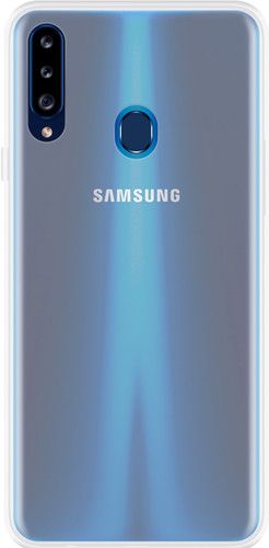 Just in Case Soft Design Samsung Galaxy A20s Back Cover Transparant Main Image