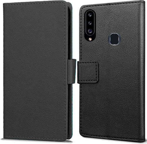 Just in Case Wallet Samsung Galaxy A20s Book Case Zwart Main Image