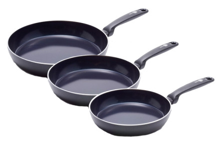 GreenPan Torino Frying Pan Set 3-Piece - 20cm + 24cm + 28cm Main Image
